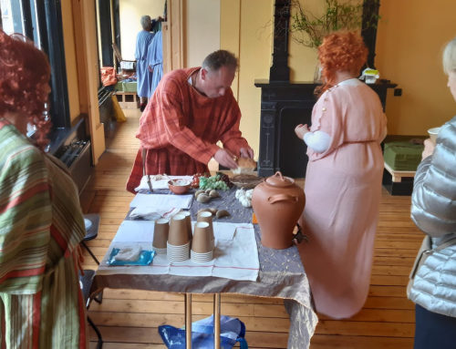 Romansweek in Museum Valkenburg