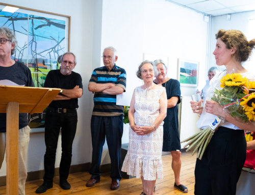 Opening exhibition 'Collages' by Dorine van der Ploeg