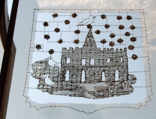 Kunst in huis: 'Kijk op het kasteel' van Natascha Waeyen