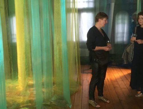 Vernissage duo expositie in de bovenzaal van Museum Valkenburg
